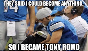 Stafford wants to become Romo