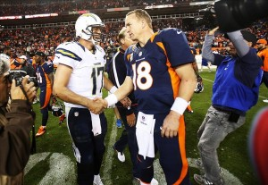Manning vs Rivers 2013 Denver