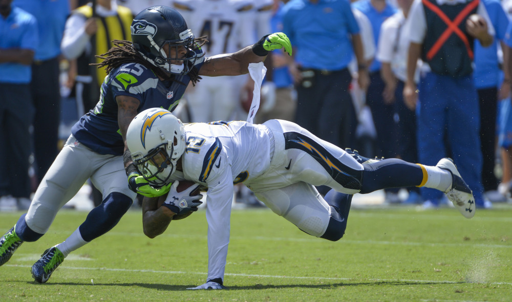 USP NFL: SEATTLE SEAHAWKS AT SAN DIEGO CHARGERS S FBN USA CA