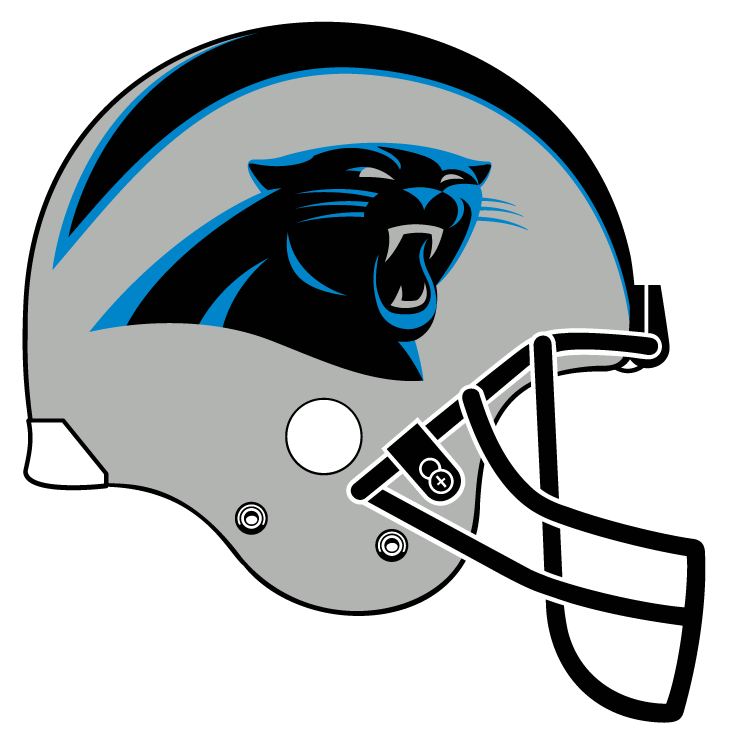 Black panthers football logo