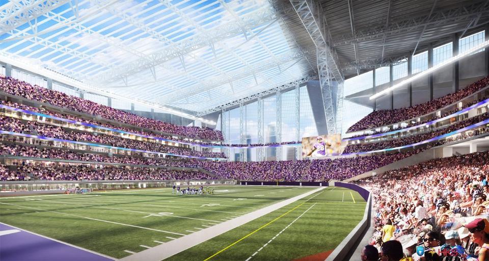 Το νέο γήπεδο των Vikings