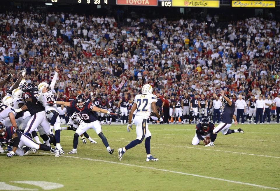 1η Εβδομάδα – MNF – Eagles στους Redskins και Texans στους Chargers