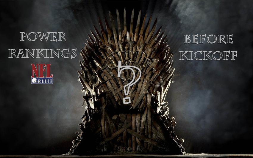 Power Rankings: Kickoff