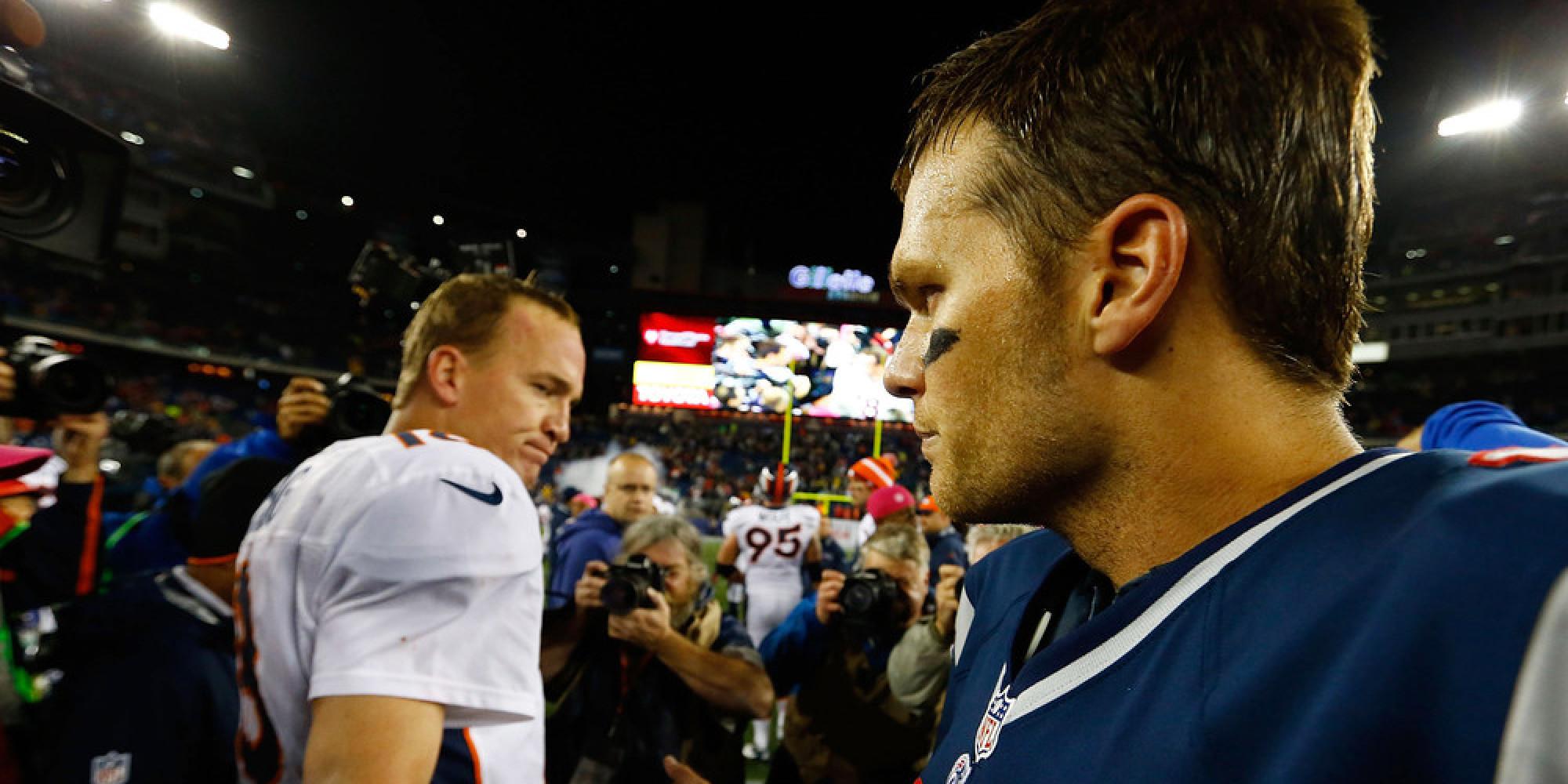 Head to Head: Brady vs Manning