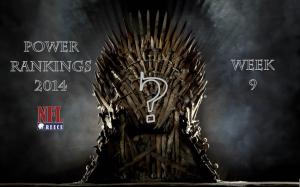 Power Rankings: Week 9