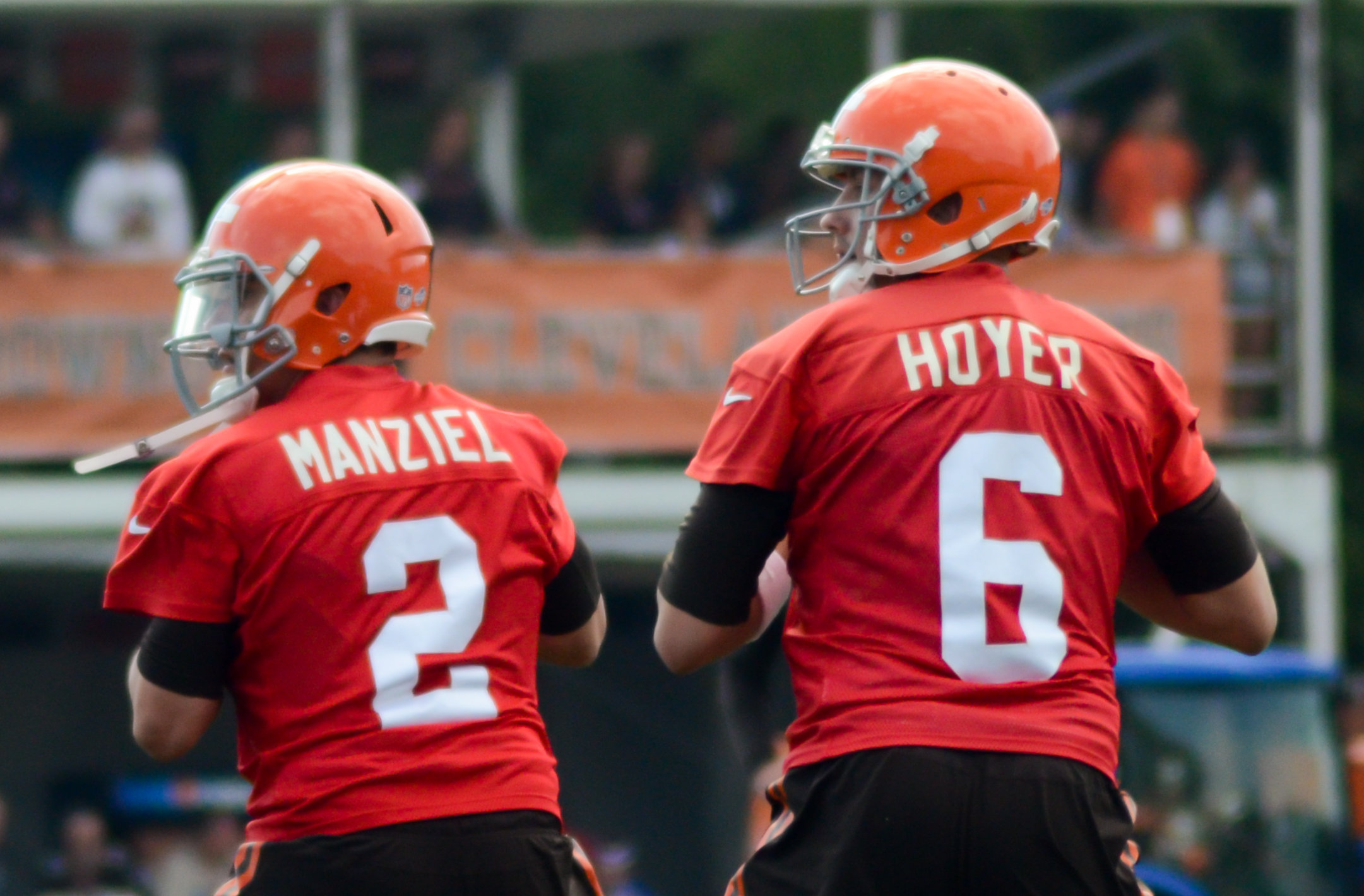 Head to Head: Hoyer vs Manziel