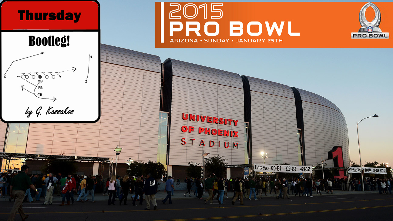 Thursday Bootleg: Ψηφίζοντας παίκτες για το Pro Bowl  (Μέρος Α)  .
