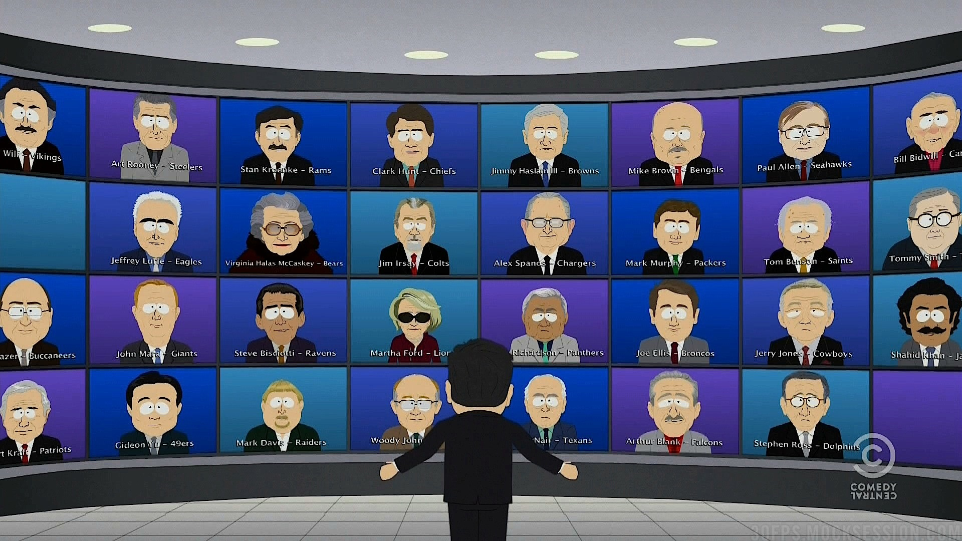 32 nfl owner by south park...