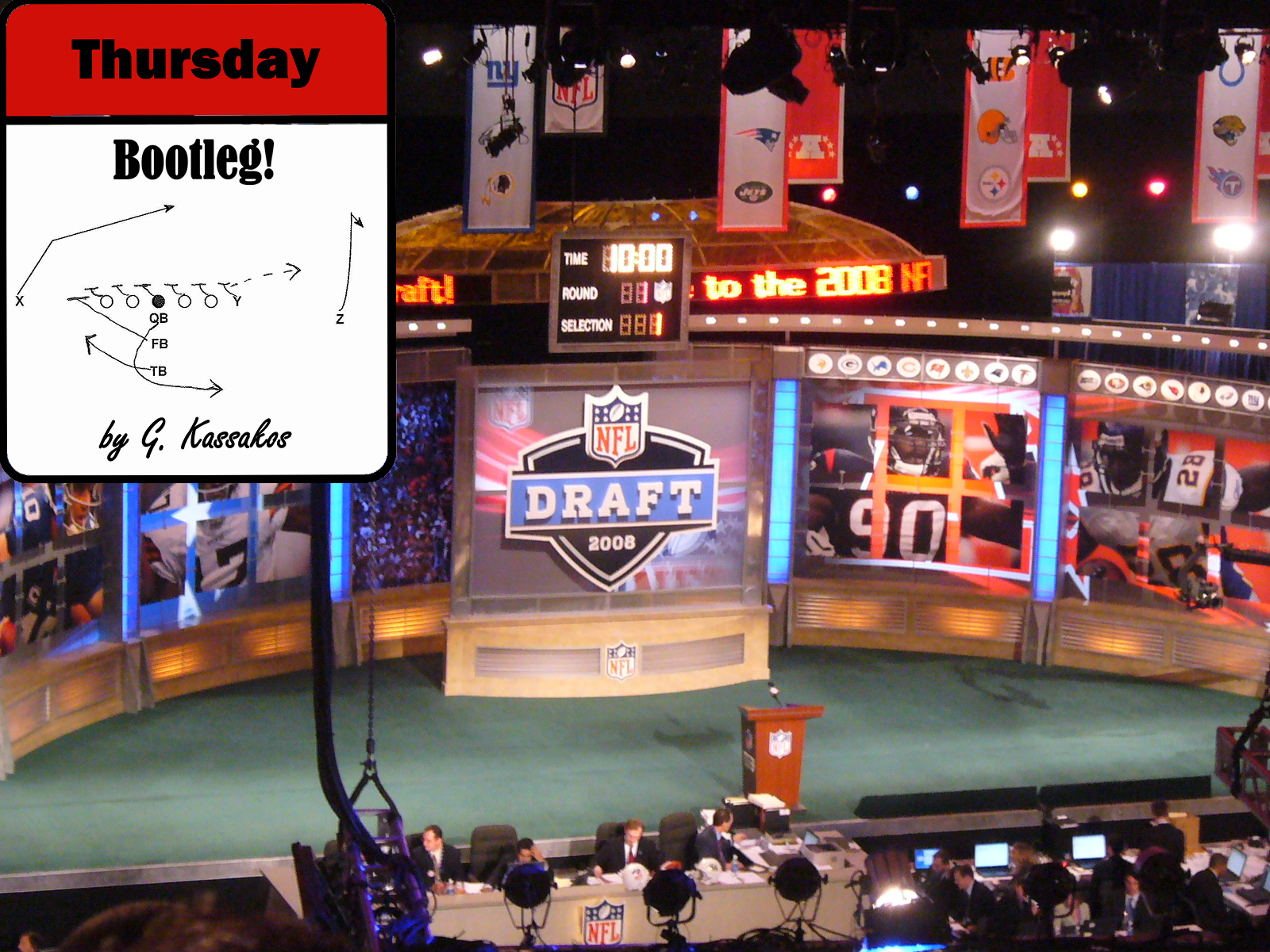 Thursday Bootleg: Mock Draft 2015 v1.0