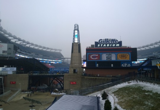 Μια μέρα στο Foxborough και το Gillette Stadium με το NFLGreece.