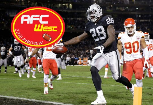 Season Preview 2016: AFC West