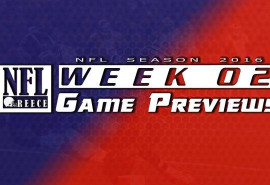 Week 2 Game Previews
