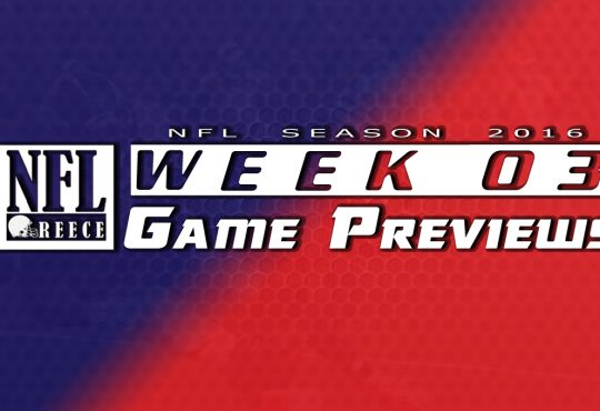 Week 3 Game Previews