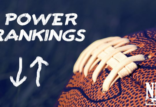 Power Rankings 2016: Week 1