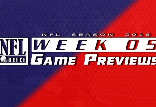 Game Previews Week 5