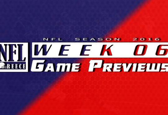 Game Previews Week 6