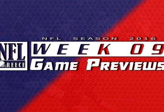 Game Previews Week 9