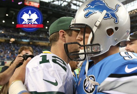 Head to Head: Packers ή Lions;
