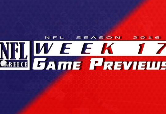 Game Previews Week 17