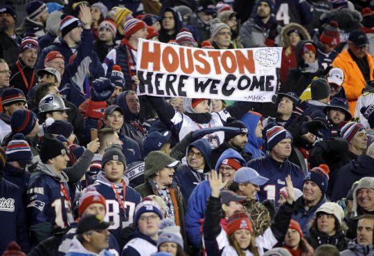 Oι Falcons και οι Patriots στον δρόμο για το Houston.