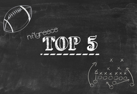 NFLGreece Top 5 : Post Draft Top 10 Version