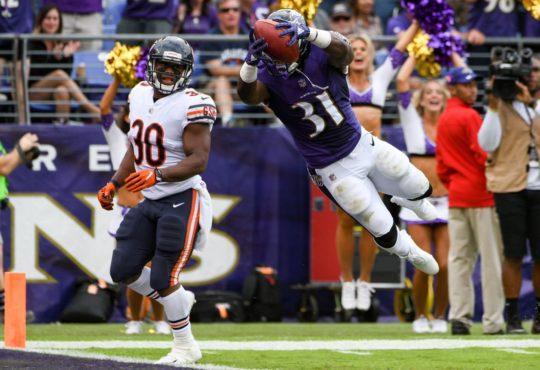 Το football είναι και πάλι εδώ με τον αγώναανάμεσα σε Baltimore Ravens και Chicago Bears!