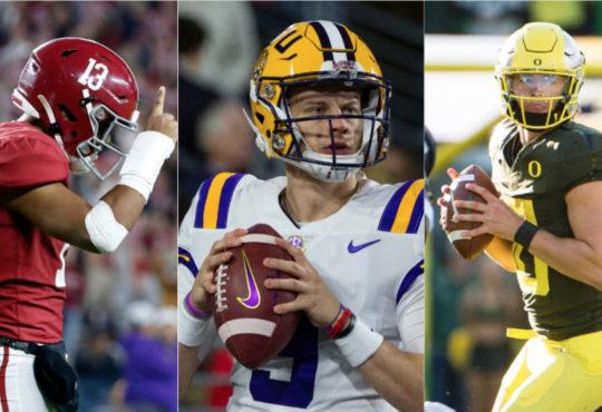 Οι 3 Quarterbacks του 2020 NFL Draft