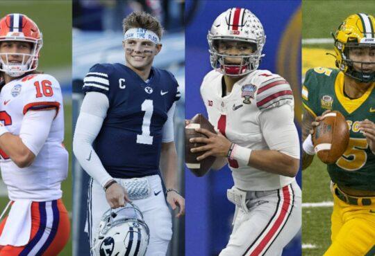 Οι 4 Quarterbacks του 2021 NFL Draft